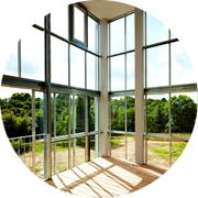 Окна и двери из теплого алюминия